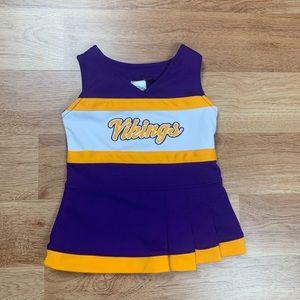 Minnesota Vikings Baby Girl Cheerleading Dress